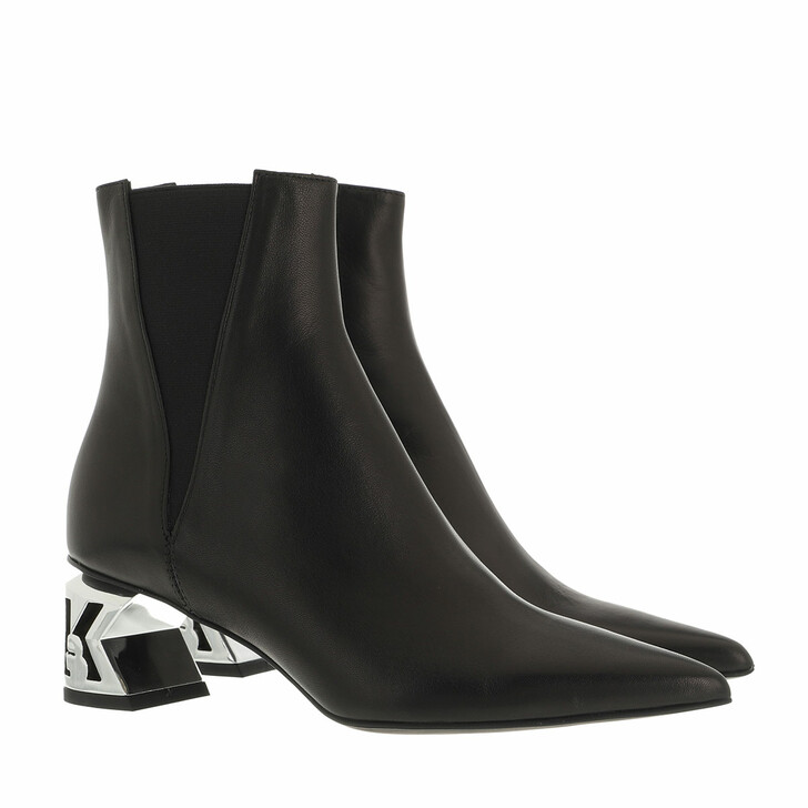 shoes, Karl Lagerfeld, K-BLOK Ankle Chelsea Boot Black Leather