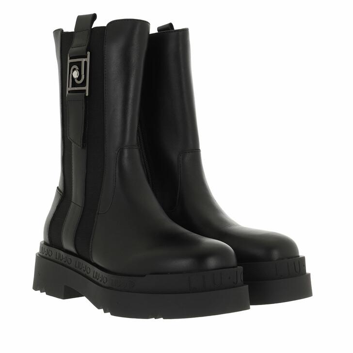 shoes, LIU JO, Love 10  Boot Calf Black
