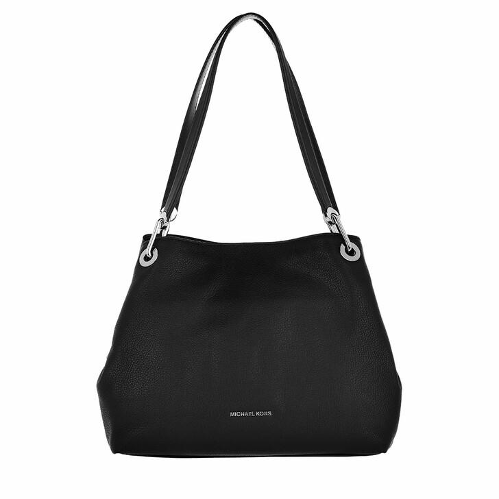 bags, MICHAEL Michael Kors, Large Shoulder Tote Black