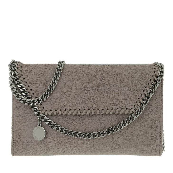 Handtasche, Stella McCartney, Falabella Mini Crossbody Bag Ash Grey
