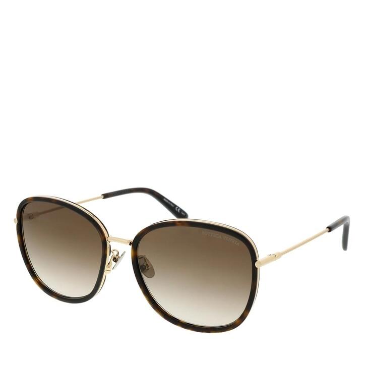 Sonnenbrille, Bottega Veneta, BV0220SK-002 59 Sunglass Woman Acetate Havana