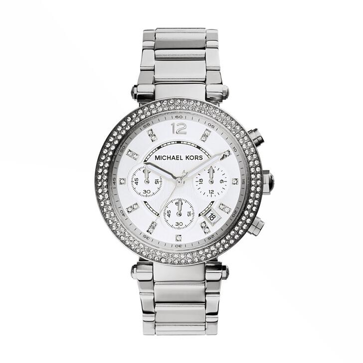 Uhr, Michael Kors, MK5353 Parker Watch Silver-Tone