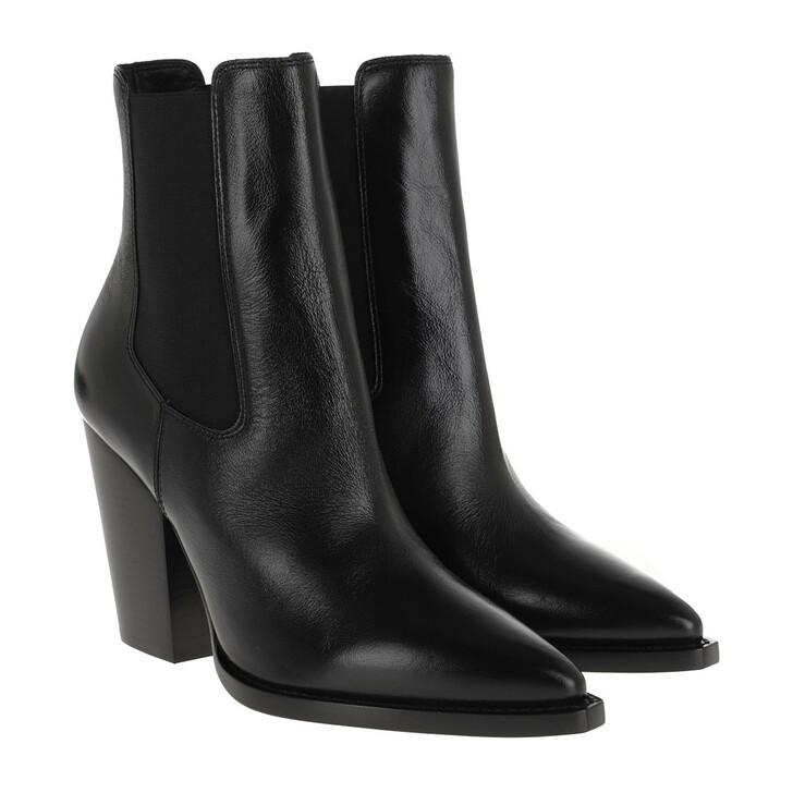 Schuh, Saint Laurent, Theo Chelsea Bootie Leather Black