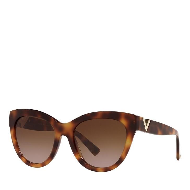 Sonnenbrille, Valentino, 0VA4089 LIGHT HAVANA