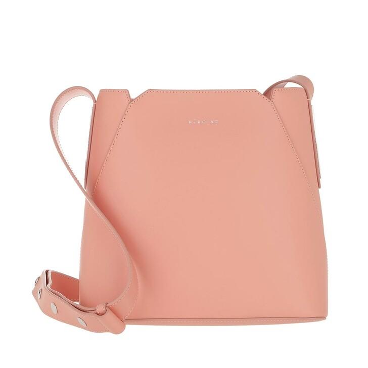 bags, Maison Hēroïne, Josephine Bucket Bag Coral Crush