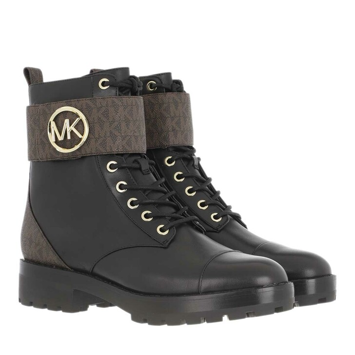 Schuh, MICHAEL Michael Kors, Tatum Ankle Boot Brown Black