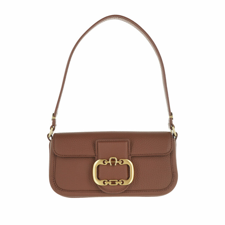 Handtasche, AIGNER, Celia Handle Bag Walnut Brown