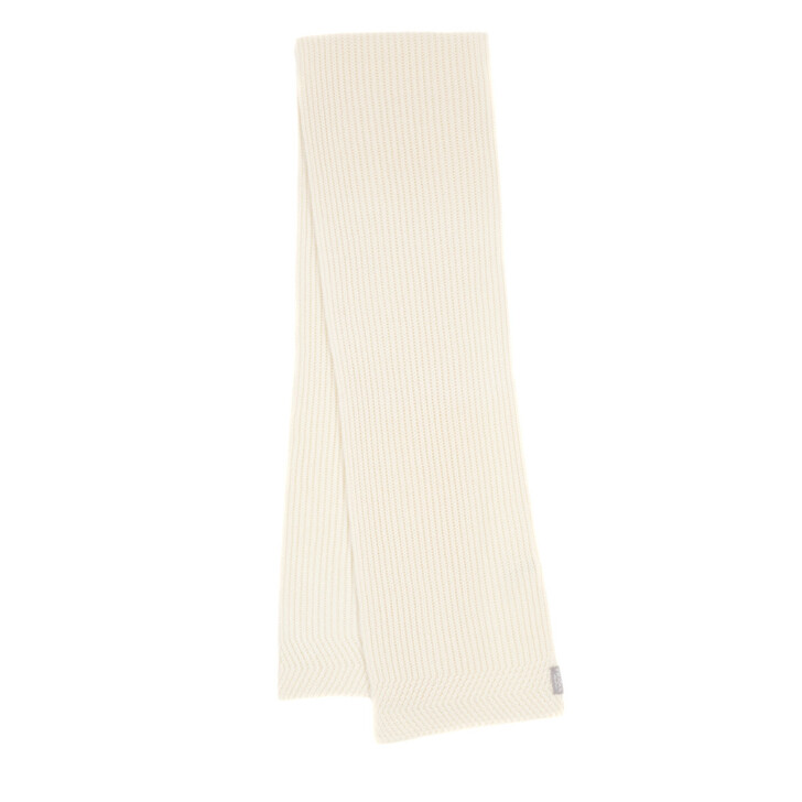 Schal, FRAAS, Cashmere Scarf Off White