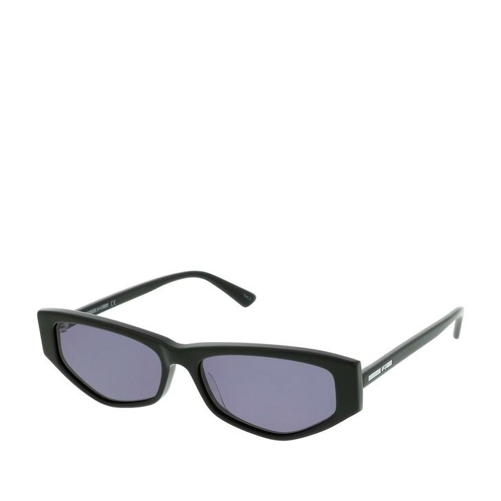 Sonnenbrille, McQ, MQ0250S-001 56 Sunglasses Black-Black-Smoke