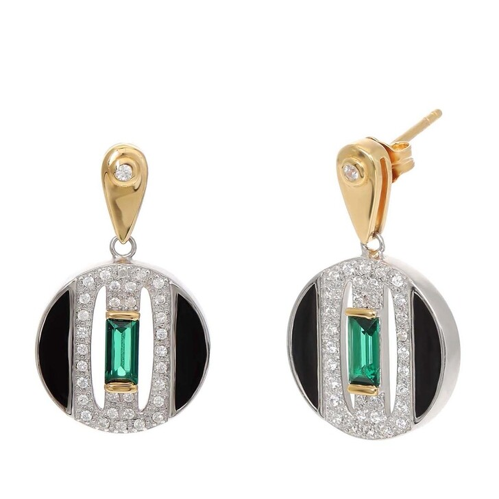 Ohrring, V by Laura Vann, Daphne Earrings  Bicolor