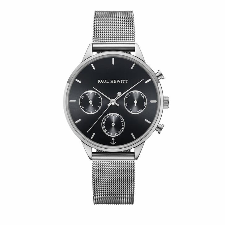 Uhr, PAUL HEWITT, Watch Everpulse Black Sunray Mesh Strap Silver