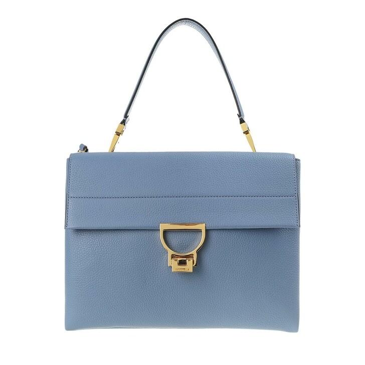 Handtasche, Coccinelle, Arlettis Satchel Bag Pacific Blue