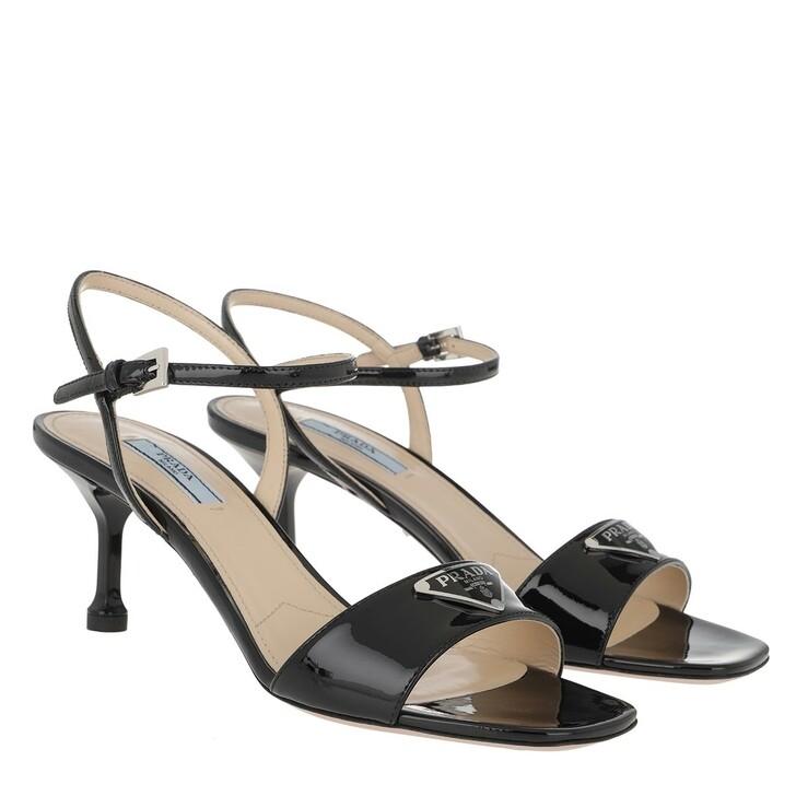 Schuh, Prada, Open Sandals Leather Black