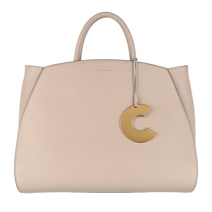 Handtasche, Coccinelle, Concrete Handle Tote Bag Powder Pink