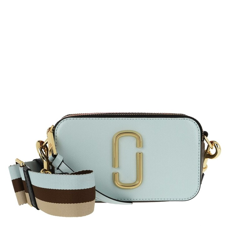 Handtasche, Marc Jacobs, Snapshot Small Camera Bag Lake Blue/Multi