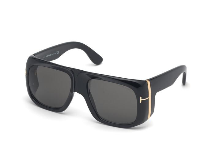 Sonnenbrille, Tom Ford, Men Sunglasses FT0733 Black/Grey