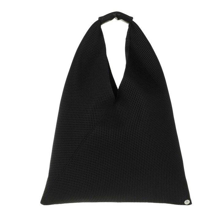 Handtasche, MM6 Maison Margiela, Small Japanese Hobo Bag Black