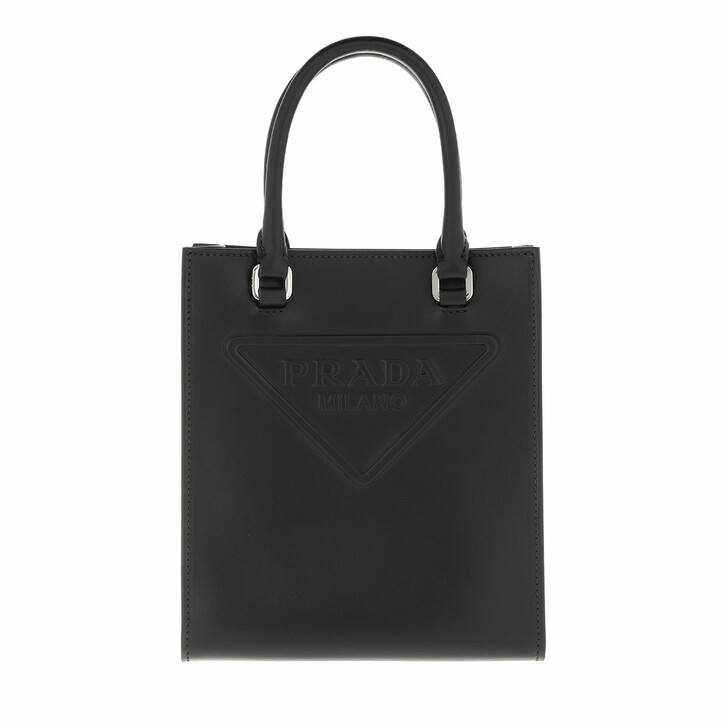 bags, Prada, Crossbody Bag Leather Black