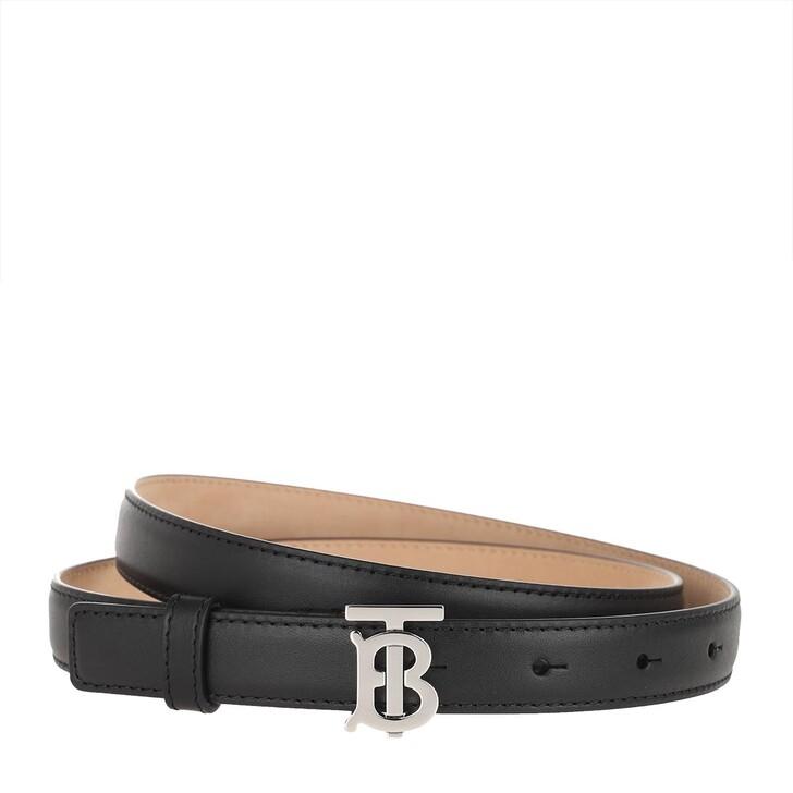 Gürtel, Burberry, Slim Belt Leather Black