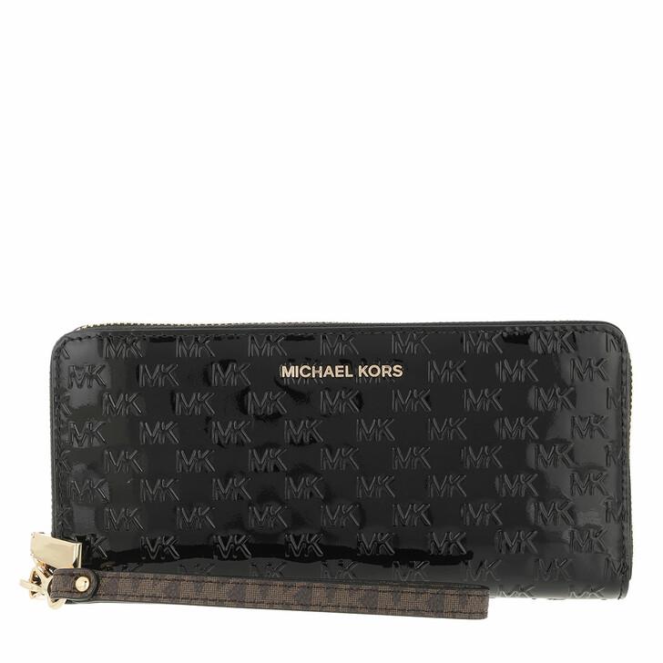 wallets, MICHAEL Michael Kors, Travel Continental Black