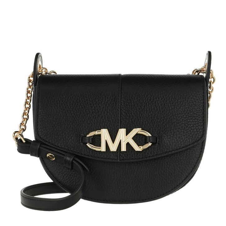 Handtasche, MICHAEL Michael Kors, Izzy Sm Conv Saddle Xbody Black