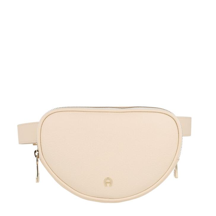 Handtasche, AIGNER, Belt Bag Ivy Antique White