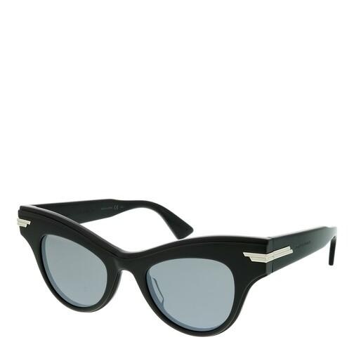 bottega veneta -  Sonnenbrille - BV1004S-006 47 Sunglass WOMAN ACETATE - in schwarz - für Damen