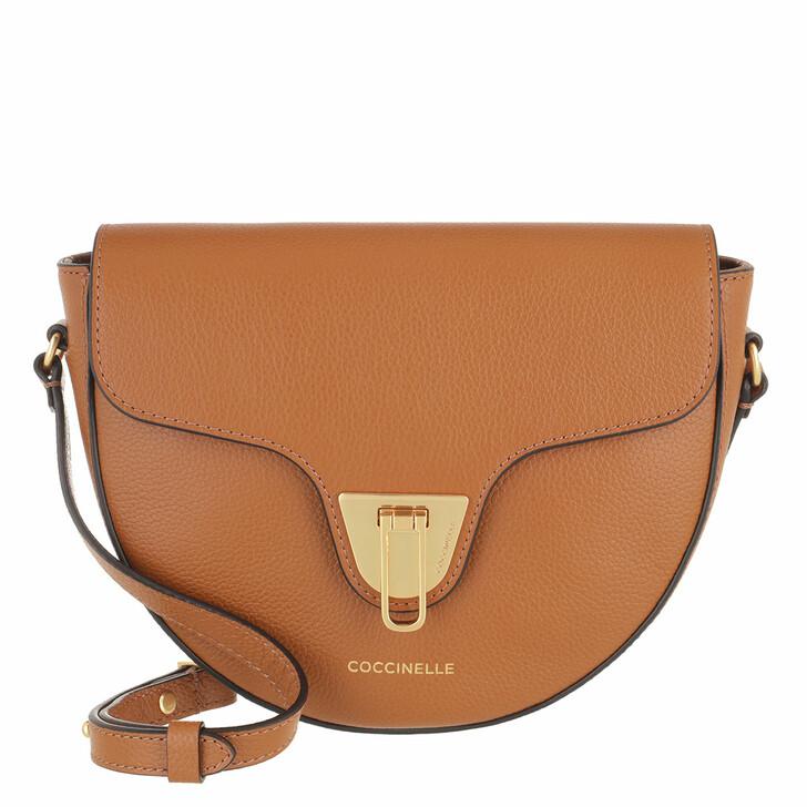 bags, Coccinelle, Beat Soft Handbag Bottalatino Leather Caramel