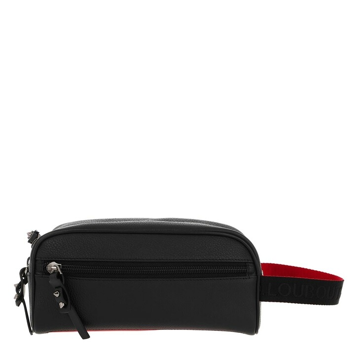 Necessaire, Christian Louboutin, Blastern Calf Leather Black