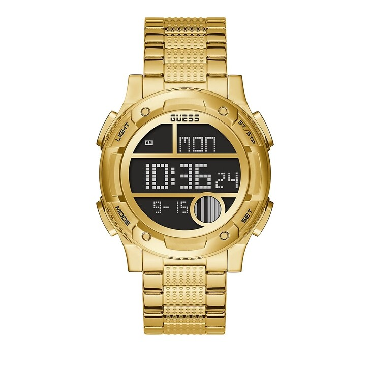 watches, Guess, MENS TREND WATCH Gold Tone