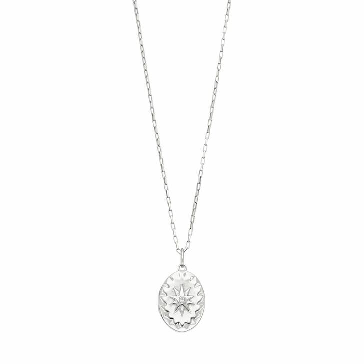 Kette, Leaf, Necklace Locket Sterling silver