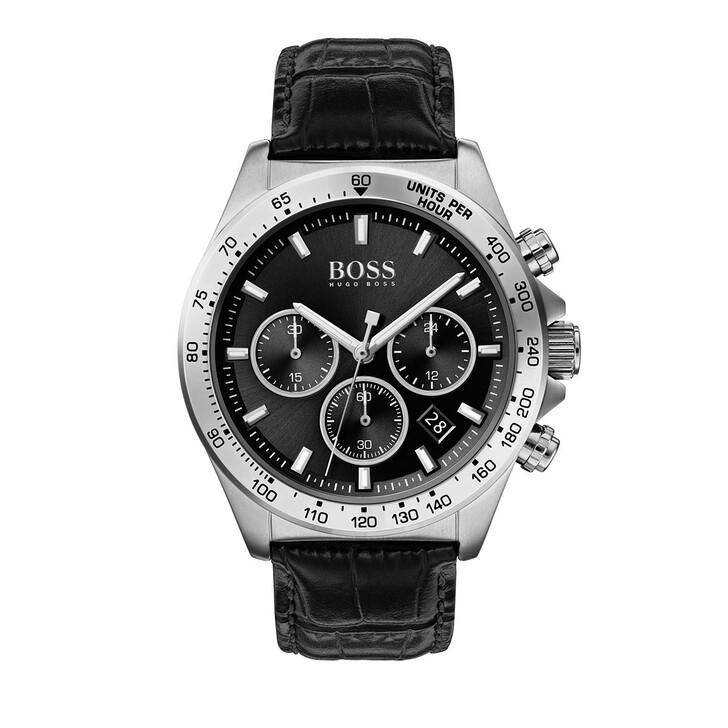 Uhr, Boss, Chronograph Men Hero 1513752 Black