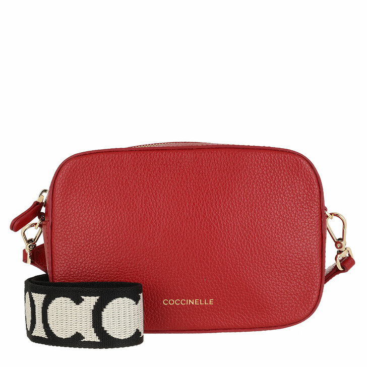 Handtasche, Coccinelle, Mini Bag Bottalatino Leather Ruby