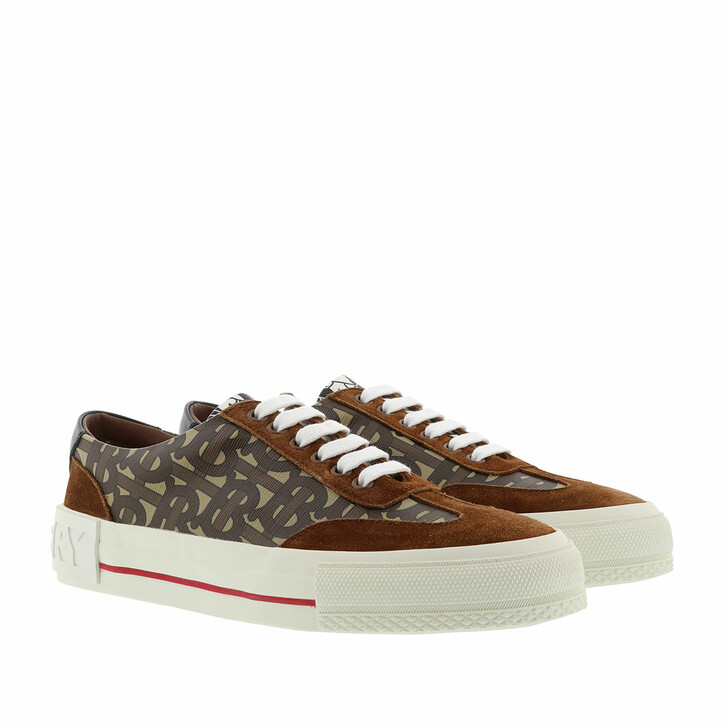 Schuh, Burberry, Sneakers Leather Bridle Brown