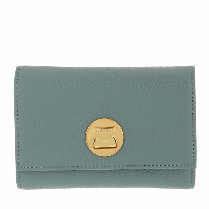 wallets, Coccinelle, Liya Wallet Grainy Leather Shark Grey