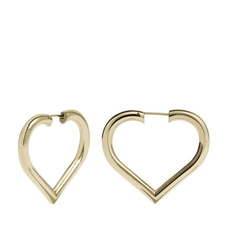 Ohrring, Meadowlark, Love Hoops Medium Gold Plated