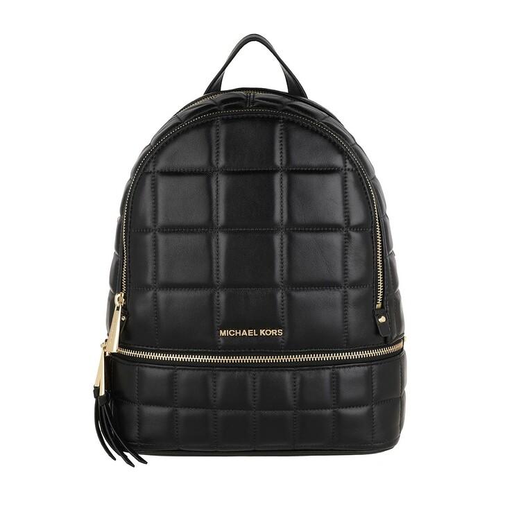 Reisetasche, MICHAEL Michael Kors, Rhea Medium Backpack Black