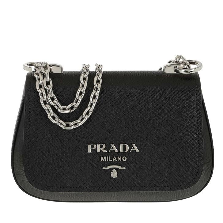 Handtasche, Prada, Medium Crossbody Bag Black