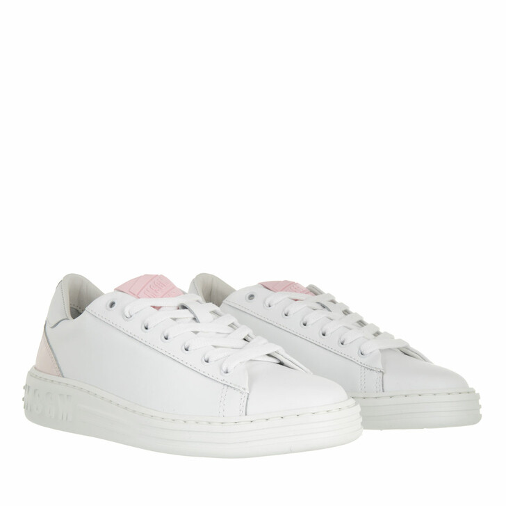 shoes, MSGM, Scarpa Donna Pink White