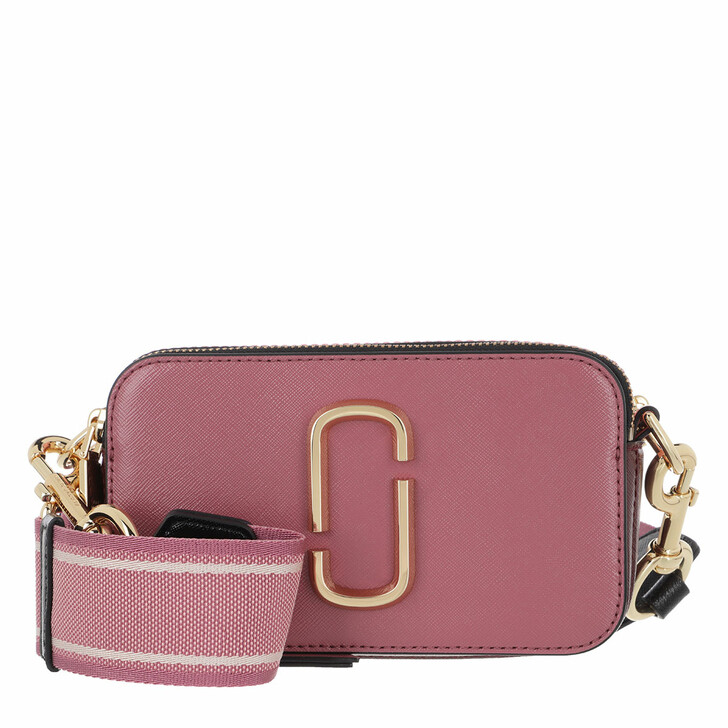Handtasche, Marc Jacobs, Snapshot Small Camera Bag Dusty Ruby/Multi