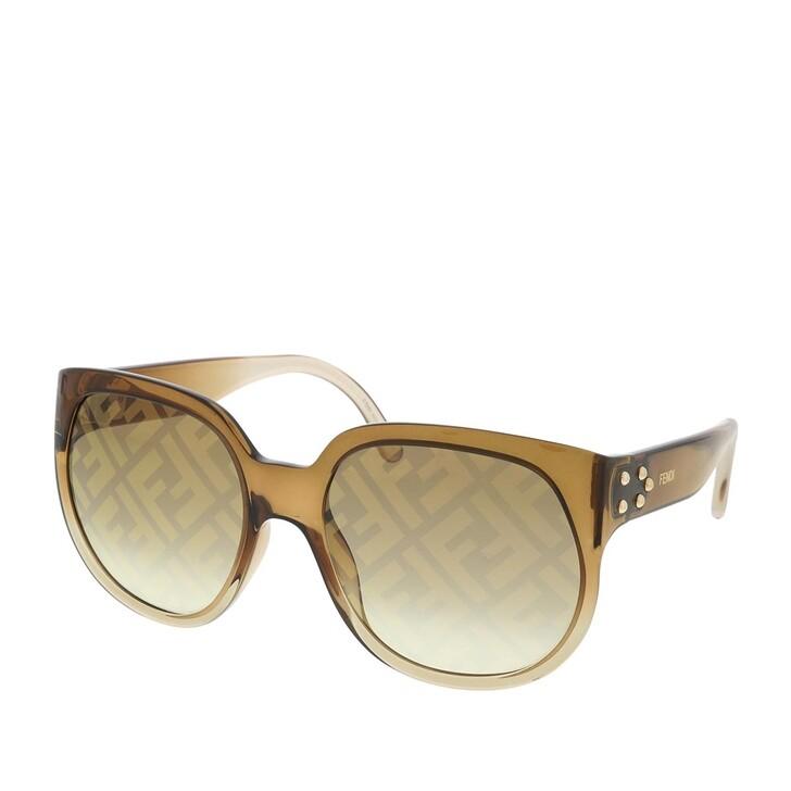 Sonnenbrille, Fendi, FF 0403/G/S Sunglasses Brown