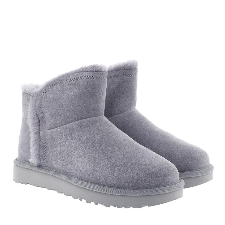 shoes, UGG, W Classic Mini Fluff High-Low Geyser