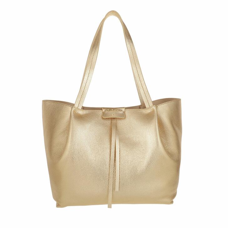 Handtasche, Patrizia Pepe, Shopping Bag Gold Star
