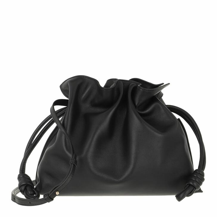 bags, Loewe, Flamenco Clutch Black