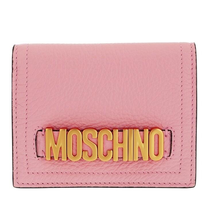 wallets, Moschino, Portafoglio Rosa