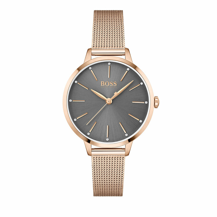 watches, Boss, Watch Symphony Rose Gold