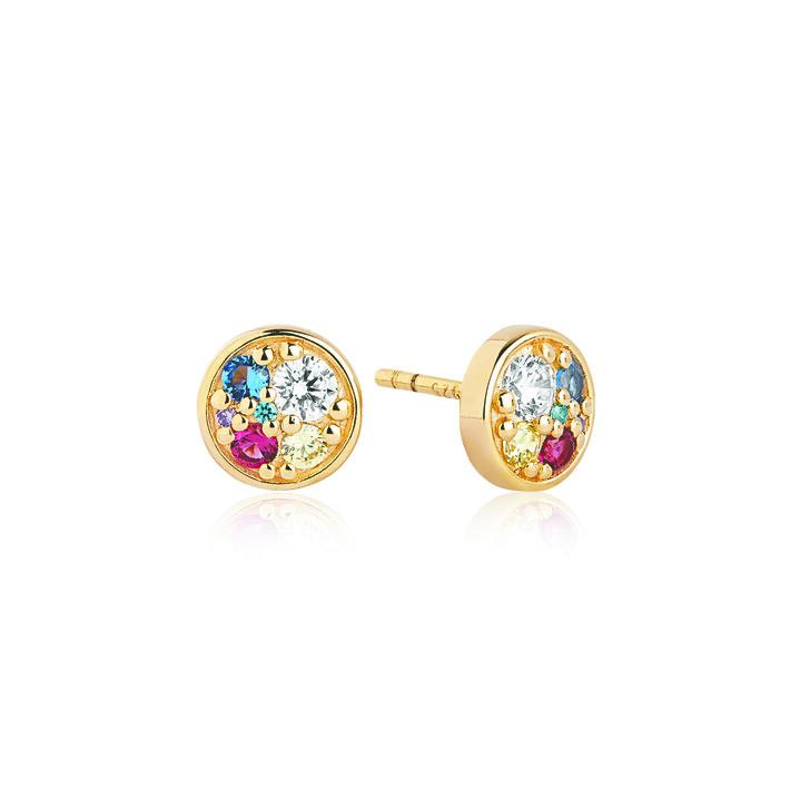 earrings, Sif Jakobs Jewellery, Novara Piccolo Earrings 18K Yellow Gold Plated