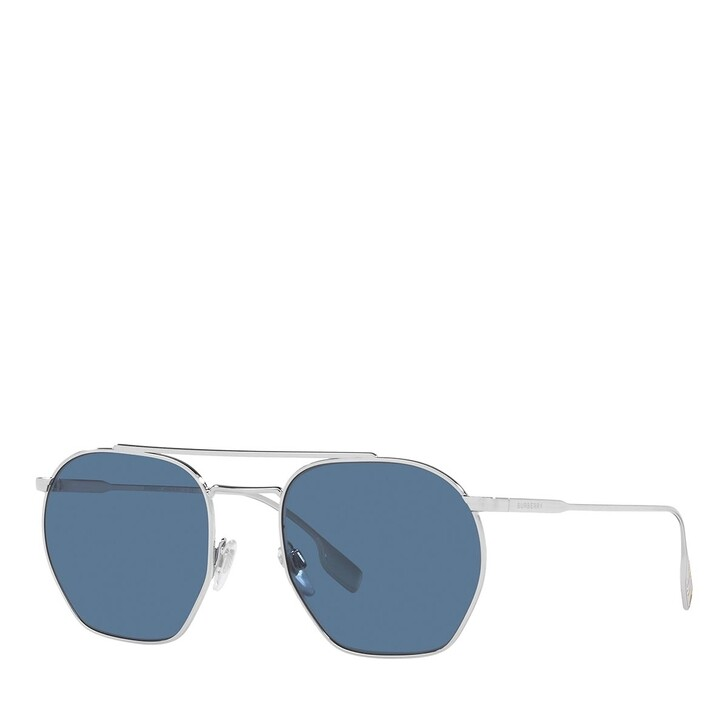 Sonnenbrille, Burberry, 0BE3126 SILVER