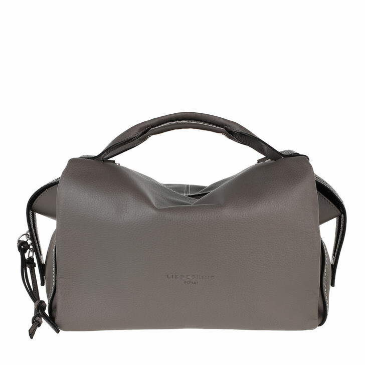 Handtasche, Liebeskind Berlin, Gray Satchel Honey Grey