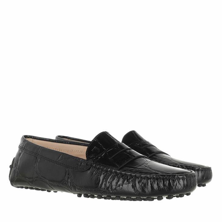 Schuh, Tod's, Gommino Moccasin Patent Leather Black